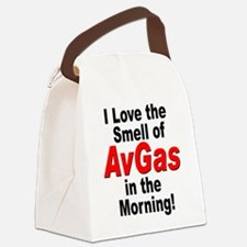 LoveAvGas.jpg Canvas Lunch Bag