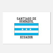 Santiago de Guayaquil Ecuador Postcards (Package o