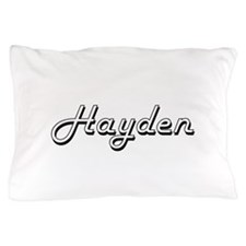 Hayden surname classic design Pillow Case