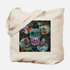 Sugar Skulls Design Tote Bag