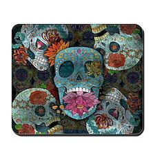 Sugar Skulls Design Mousepad