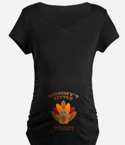 Mommys Little Turkey Maternity T-Shirt
