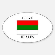 I Love Ipiales Decal