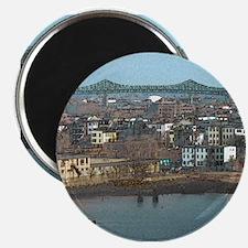 "Mystic River's Tobin Bridge 2.25"" Magnet (10 pack)"