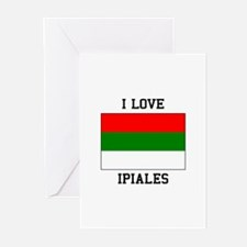 I Love Ipiales Greeting Cards