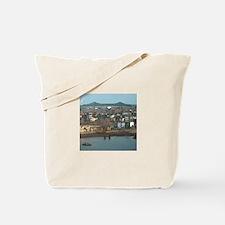 Mystic River's Tobin Bridge Tote Bag