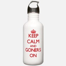 Keep Calm and Goners O Water Bottle