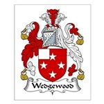 Wedgewood Family Crest Small Poster