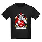 Wedgewood Family Crest Kids Dark T-Shirt