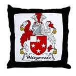 Wedgewood Family Crest Throw Pillow
