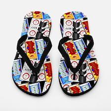 Pulltabs Flip Flops