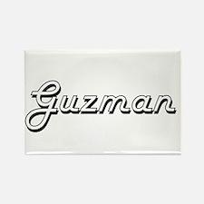 Guzman surname classic design Magnets