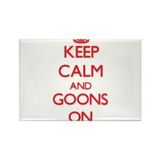 Keep Calm and Goons ON Magnets