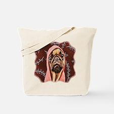 Hood Pug Tote Bag