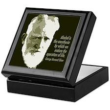 George Bernard Shaw Keepsake Box