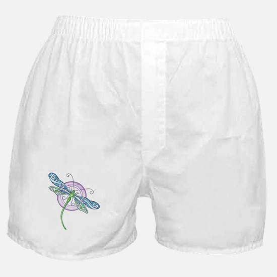 Whimsical Dragonfly Boxer Shorts