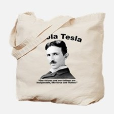 Tesla: Virtues Tote Bag