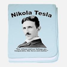 Tesla: Virtues baby blanket