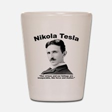 Tesla: Virtues Shot Glass