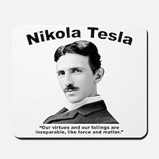 Tesla: Virtues Mousepad