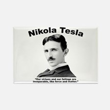 Tesla: Virtues Rectangle Magnet