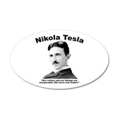Tesla: Virtues Wall Decal