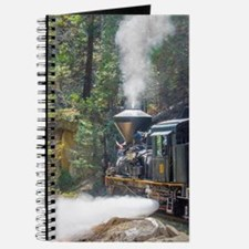 Steam Locomotive in the Forest Journal