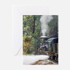 Steam Locomotive in the Greeting Cards (Pk of 10)