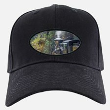 Steam Locomotive in the Forest Baseball Hat