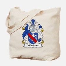 Wayland Family Crest Tote Bag