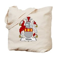 Watts Family Crest Tote Bag