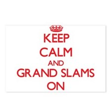Keep Calm and Grand Slams Postcards (Package of 8)