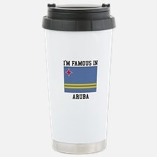 Famous In Aruba Travel Mug