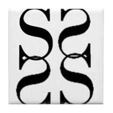 The Shanta Logo Tile Coaster