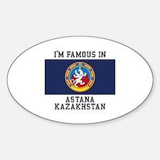 Famous In Kazakhstan Decal