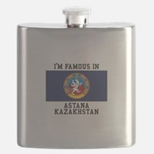 Famous In Kazakhstan Flask