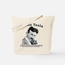 Tesla: Inseparable Tote Bag