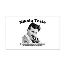 Tesla: Inseparable Car Magnet 20 x 12