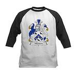 Watson Family Crest Kids Baseball Jersey