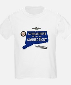 CONNECTICUT BORN T-Shirt