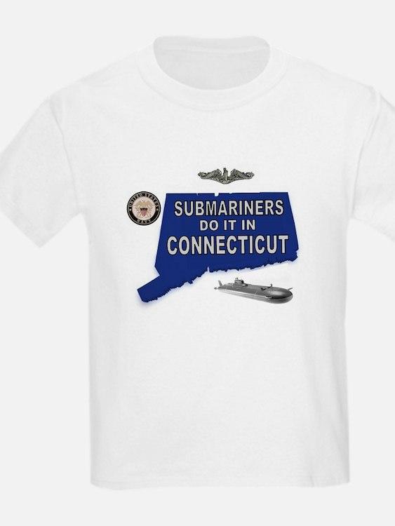 CONNECTICUT BORN T-Shirt