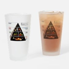 Food Pyramid Drinking Glass