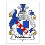 Watkinson Family Crest Small Poster