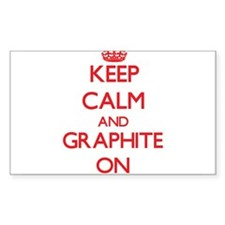 Keep Calm and Graphite ON Decal