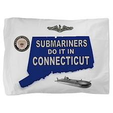 Unique Navy diver Pillow Sham