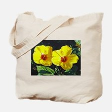 Hisbiscus Tote Bag