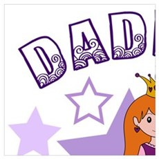 Daddy's Princess Poster