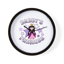 Daddy's Princess Wall Clock