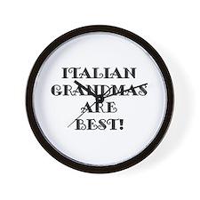 Italian Grandmas Wall Clock