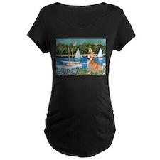 Monet's Sailboats T-Shirt